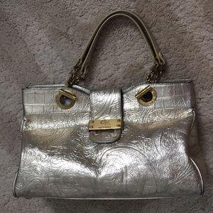 Etro metallic purse